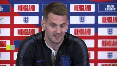 'He was smashing it past me' England keeper Heaton on Hudson Odoi