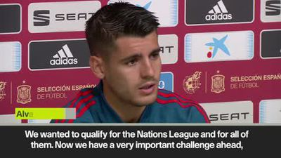 'We have a beautiful challenge' Morata on Euros qualification