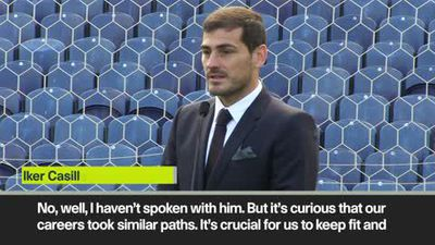 Casillas on Buffon comparison and their careers