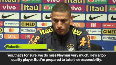'We will miss Neymar' - Richarlison