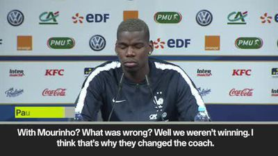 Pogba on why Mourinho was sacked