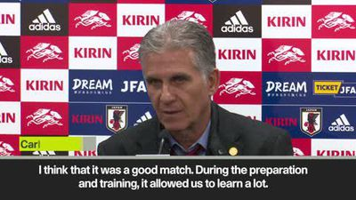 Queiroz 'very satisfied' as Colombia bt Japan in his debut
