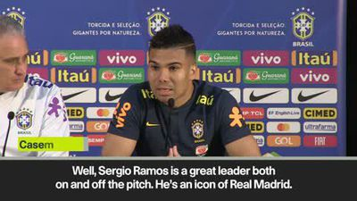 Brazil captain Casemiro inspired by Sergio Ramos