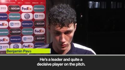 'Pogba is a leader' - Pavard on Man Utd star and Giroud