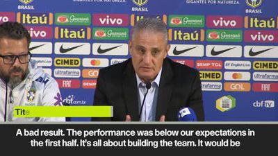'I don't want to talk about the referee's mistake but ...' Tite after Brazil draw 1-1 with Panama
