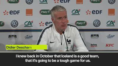 Deschamps expect tough match against Iceland