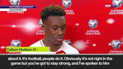 'Raheem Sterling always helps me' - Hudson Odoi on tackling racism
