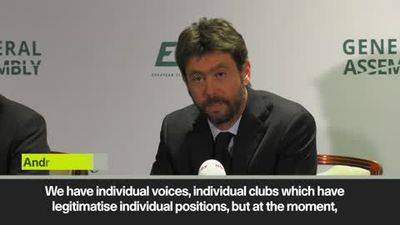 "Club World Cup managed ""like local lottery for Thanksgiving"" Agnelli"