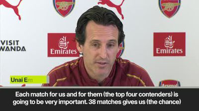 Top four race will go to the wire - Emery