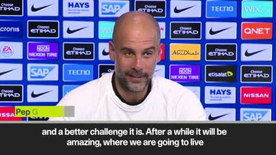 'Nobody said it would be easy' - Guardiola on the title race