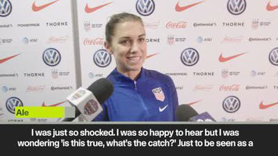'What's the catch?' reaction of US womens soccer team after equal pay bonus