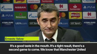 'A good taste in the mouth' - Valverde revels in beating Man Utd