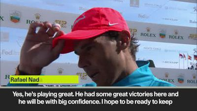 'Great news to play this level of tennis after injury' – Nadal