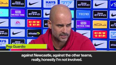 Guardiola dismisses Liverpool's title run-in as he focuses on City's games against Spurs, Man Utd...