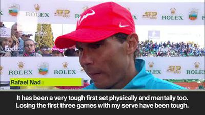 Nadal reacts to 'physically and mentally' tough Monte Carlo Masters quarter-final win over Pella