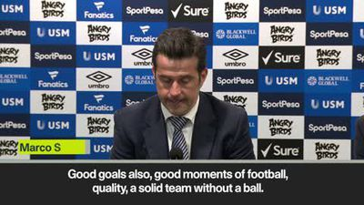 'Everton were the best team on the pitch from first minute' Silva