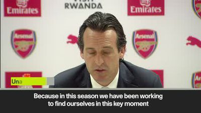 'Top four in Arsenal's hands' Emery