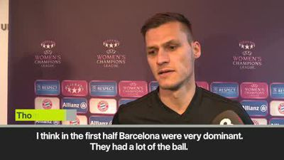 'Bayern deserved more against Barcelona' coach Thomas Worle on a 1-0 loss in first leg of semi-final