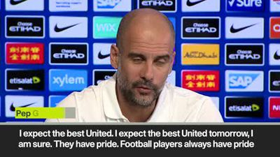'We will face 'the best United' in Manchester derby