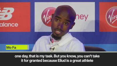 Farah wants to beat Eliud Kipchoge in London marathon