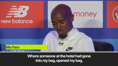 Farah rants at Gebrselassie over hotel watch theft during training in Ethiopia