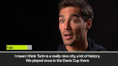 'Turin is a perfect place to host ATP Finals…there is Italian food!' Fognini