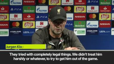 Klopp admires 'world class' Messi after Liverpool defeat