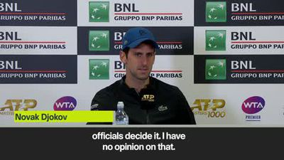 Djokovic dodges Kyrgios question in press conference