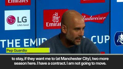 Pep Guardiola denies that Juventus or Serie A move is going to happen soon