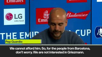 'Man City are not going to sign Griezmann' - Guardiola
