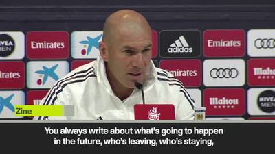 Zidane will chose second goalkeeper at the end of the season