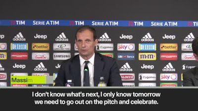 'I need a break' Allegri