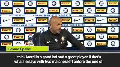 Icardi Instagram post well received by Inter Milan boss Spalletti