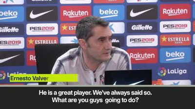 Valverde on Griezmann ahead of last game in La Liga