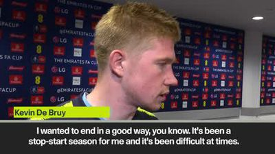'I'm still the same player' - De Bruyne send message to critics