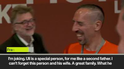 "'He should have given me 1 more year!"" Ribery leaves Bayern"