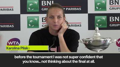 "Winning Italian Open ""a little bit like a miracle"" says Pliskova"