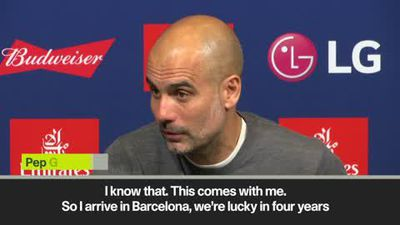 'I am judged by Champions League' Guardiola