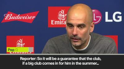 Guardiola unsure about Sane's and Gundogan's future at Man City