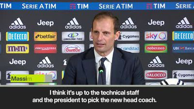 'For new coach it will be hard to improve Juventus' Allegri