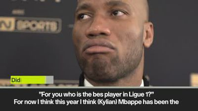 'He'll win it next year as well' Drogba on Mbappe Ligue 1 award