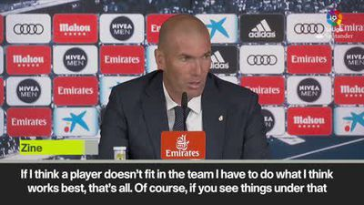 'We cannot forget the past, but I look to the future' – Zidane on Bale