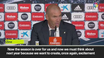 'We want to create excitement among our fans' - Zidane on future
