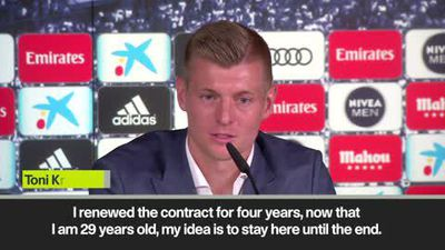 Kroos wants to retire in Real Madrid
