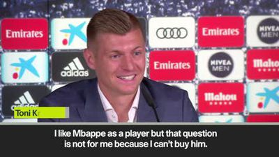 Kroos 'can't buy Mbappe and ready to fight for his place with Pogba'