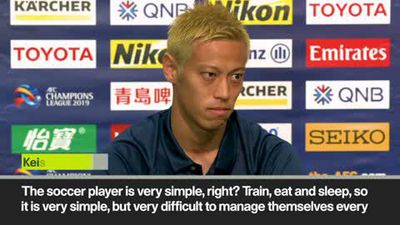 'No one can make your dream come true' Honda has message for young players