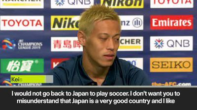 'I won't go back to Japan' Honda leaves Melbourne Victory