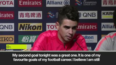 '1 of my career favourites' Oscar on the 2nd of his 3 ACL goals