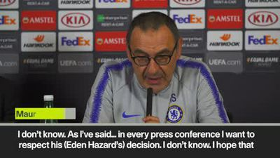 Sarri 'We need to be ready' Hazard to Chelsea?