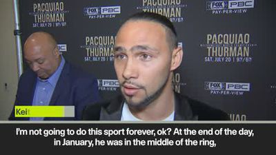Thurman wants to send Pacquiao into retirement